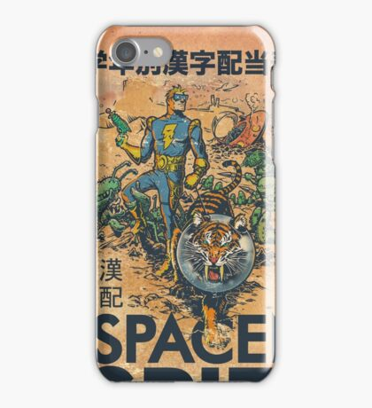 Calvin: The Spiffy Spaceman iPhone Case/Skin