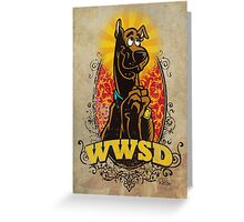 WWSD Greeting Card