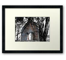 Sunday Church Framed Print