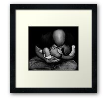 A Father's Love Framed Print