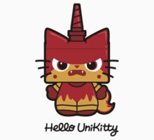 Hello (Angry) Unikitty Kids Tee