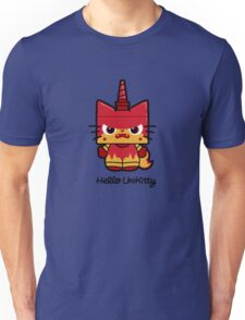 Hello (Angry) Unikitty Unisex T-Shirt