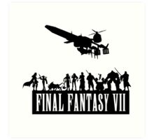 Final Fantasy VII - The Party Art Print