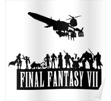 Final Fantasy VII - The Party Poster