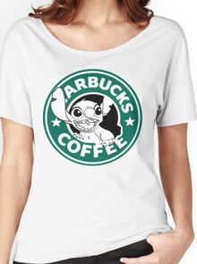 No more coffee for you - Stitch Starbucks logo Women's Relaxed Fit T-Shirt