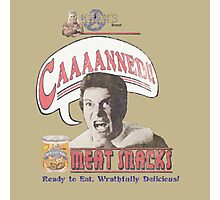 Khan's CAAAANNED!! Meat Snacks Photographic Print
