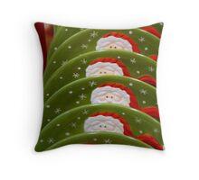 Christmas Stoneware   ^ Throw Pillow