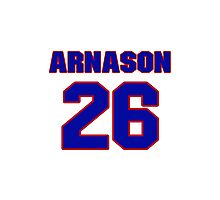 Hey, you must be a big fan of Arnason, if not pls search for your favourite players jersey to wear it proudly.  Photographic Print