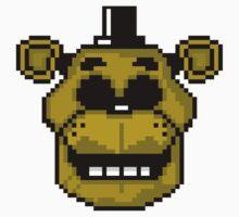 Golden Freddy 8-Bit by clearspace80