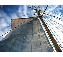 Standing Rigging Photographic Print