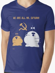 WE ALL ARE MR. SATURN! Mens V-Neck T-Shirt