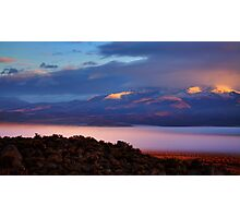 Palomino Valley Glow Fog Photographic Print