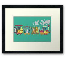 The Disney Circus Framed Print