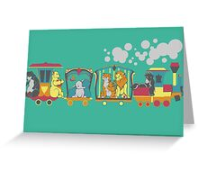 The Disney Circus Greeting Card