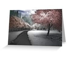 Parkland Path Greeting Card