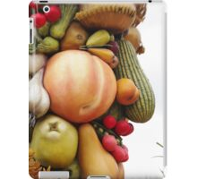 God of Harvest, Fruit and Vegetable Face iPad Case/Skin