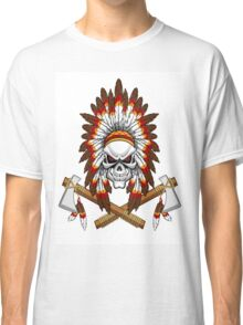 indian (skull) Classic T-Shirt
