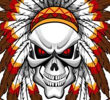 indian (skull) Sticker