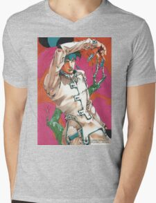 rohan at the louvre Mens V-Neck T-Shirt