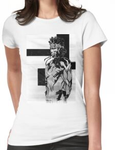 The other side Womens Fitted T-Shirt