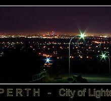 Perth - City of Lights by Daniel Fitzgerald