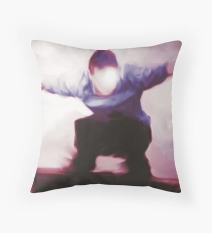 The Feral Child Throw Pillow