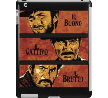 The Good, the Bad, and the Ugly iPad Case/Skin