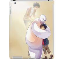 Big Hero 6 Baymax Hugging Hiro With Tadashi iPad Case/Skin
