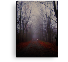 Ghost Road Canvas Print