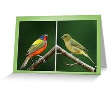 Mr. and Mrs. P. Bunting Greeting Card