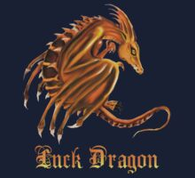 Luck Dragon with letters by Lotacats