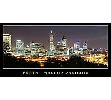 Perth Western Australia Photographic Print