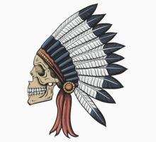 indian (skull) by tamaya111