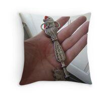A key for Santa Throw Pillow