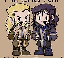 Little Fili and Kili by JZanderK