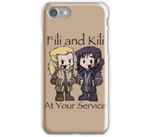 Little Fili and Kili iPhone Case/Skin