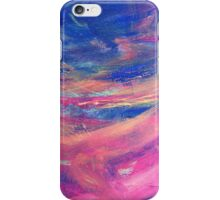 Blue and Pink Canvas iPhone Case/Skin