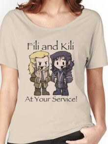 Little Fili and Kili Women's Relaxed Fit T-Shirt