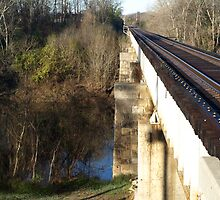 Railroad Trestle 2 by William Helms