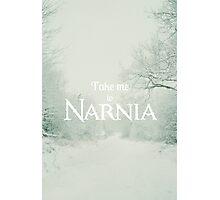 Take me to Narnia Photographic Print