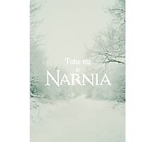 Take me to Narnia Photographic Print