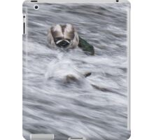 White Water Mallard iPad Case/Skin