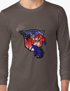 Optimus Prime Long Sleeve T-Shirt