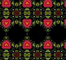 Heart Flowers by angelheart