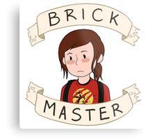 Ellie-Brick Master Metal Print