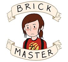 Ellie-Brick Master Photographic Print