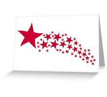 Shooting Stars Greeting Card