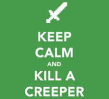 Keep Calm and Kill a Creeper by janeemanoo