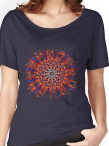 Psychedelic Splatter Women's Relaxed Fit T-Shirt