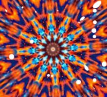 Psychedelic Splatter Sticker
